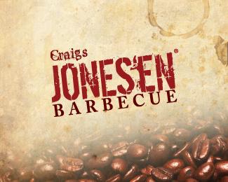Jones'en Barbecue Logo
